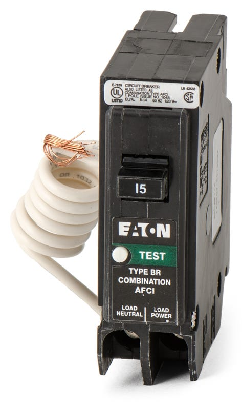 NEW Eaton Arc Fault Circuit Interrupter BRCAF115