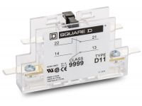 9999D11 - Square D Auxiliary Contact Block